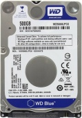 "HDD 500Gb WD Blue SATA 6Gb/s 2.5"" 5400rpm 16Mb WD5000LPCX"